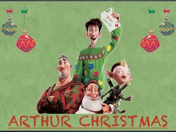 Arthur Christmas Poster.Arthur Christmas Movie Guide Christmas Activity