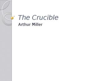 arthur miller the crucible themes