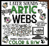 ARTIC WEBS Later Sounds: Speech Therapy Activity