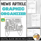NEWS ARTICLE SUMMARY OUTLINE Graphic Organizers Digital Sl