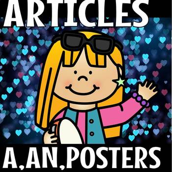 ARTICLES (A,AN and THE) POSTERS(50% off for 48 hours)
