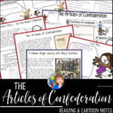ARTICLES OF THE CONFEDERATION Readings and Doodle Notes