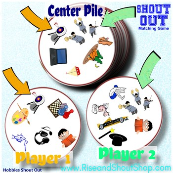 """ARTICLES of FAITH Shout Out Game; Spot the Match Game; 3"""" & 5"""" cards + gift box"""