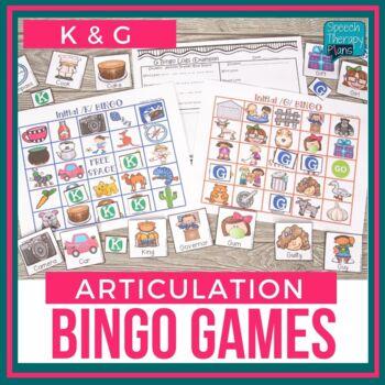 Articulation BINGO K & G (All Positions)