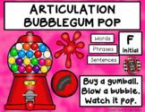 ARTICULATION BUBBLEGUM POP - F and V
