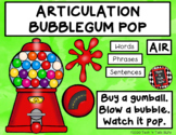 ARTICULATION BUBBLEGUM POP - Pre-Vocalic and Vocalic R