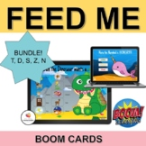 ARTICULATION Boom Cards™| Feed Me Bundle| T, D, S, Z, N