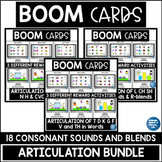 ARTICULATION Boom Cards™ Speech Therapy BUNDLE