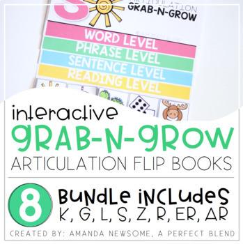 Articulation Grab-N-Grow Flip Books: BUNDLE