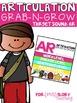 ARTICULATION GRAB-N-GROW: PREVOCALIC R/ ER/ AR