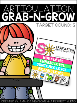 ARTICULATION GRAB-N-GROW: S
