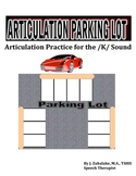 SPEECH THERAPY ARTICULATION PARKING LOT for /K/ SOUND PRACTICE