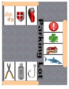 SPEECH THERAPY ARTICULATION PARKING LOT for /SH/ SOUND PRACTICE