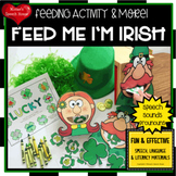 ST. Patrick ARTICULATION FEEDING MOUTH speech worksheets L