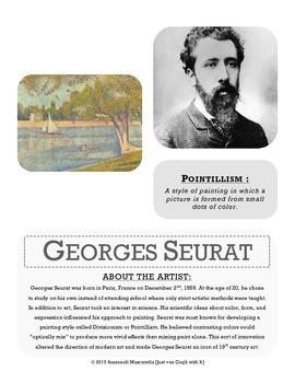 ARTIST FOCUS: Georges Seurat