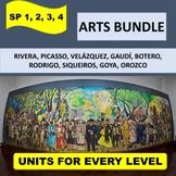 ARTS BUNDLE! Five (5) thematic units on art plus seven (7)