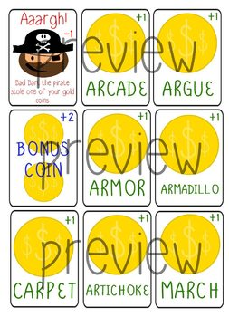 """""""Ar""""rrgh Pirate Game for vocalic /r/ - Speech Therapy Intervention"""