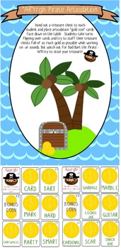 """""""Ar""""rrgh Pirate Game for vocalic /r/ - Speech Therapy Inte"""