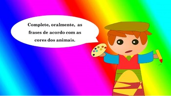 AS CORES: THE COLORS IN PORTUGUESE POWERPOINT (1ST TO 5TH)
