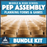 ASB Student Council Leadership Spirit Pep Assembly Kit Bundle