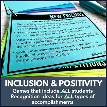 ASB Student Council Leadership Spirit Pep Assembly Kit Bundle