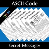 Binary Coding Unplugged Secret Codes Ascii
