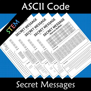 ASCII Code to Binary Secret Codes Famous Quotes