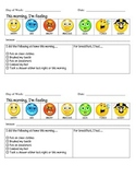 ASD - Autism - Morning Routine Communication Sheet