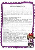 ASD Student Summary Profile