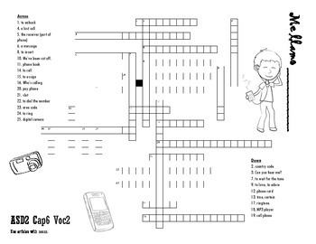 ASD2 Cap6 Vocab2 Fun Worksheet