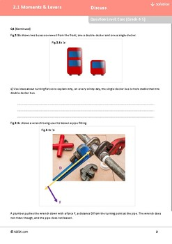 ASESK GCSE Physics Resource 2.1: Moments and Levers