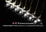 ASESK GCSE Physics Resource 2.3: Conservation of Momentum