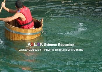 ASESK GCSE Physics Resource 2.5: Density