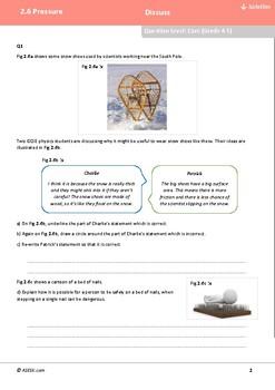 ASESK GCSE Physics Resource 2.6: Pressure