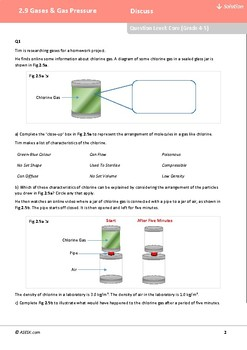 ASESK GCSE Physics Resource 2.9: Gas Pressure