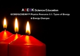 ASESK GCSE Physics Resource 3.1: Types of Energy & Energy Changes