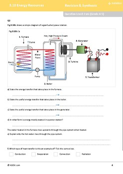 ASESK GCSE Physics Resource 3.10: Energy Resources