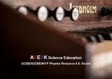 ASESK GCSE Physics Resource 4.6: Sound