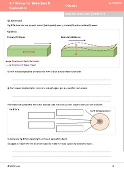 ASESK GCSE Physics Resource 4.7: Waves for Detection and Exploration