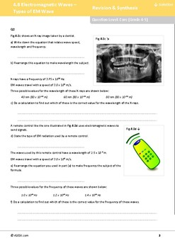ASESK GCSE Physics Resource 4.8: Electromagnetic Waves