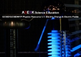 ASESK GCSE Physics Resource: 5.1 Electric Charge & Electric Fields