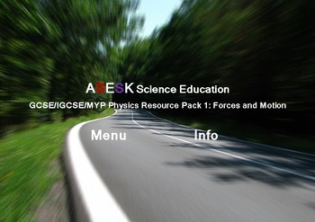ASESK Physics Resource Pack 1 - Forces and Motion