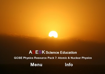 ASESK - Physics Resource Pack 7 - Atomic and Nuclear Physics