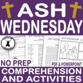 ASH WEDNESDAY And Lent {EASTER COMPREHENSION} {EASTER RELIGIOUS}