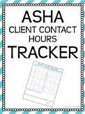 ASHA Client Contact Hours Tracker