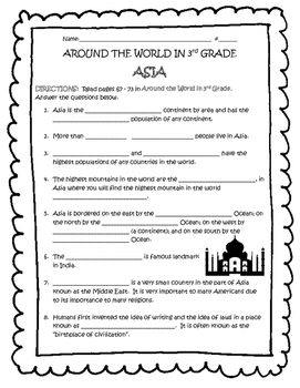 Free world history test prep resources lesson plans teachers pay asia guided reading tn around the world in 3rd grade gumiabroncs Gallery