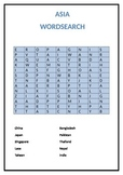ASIA WORD SEARCH