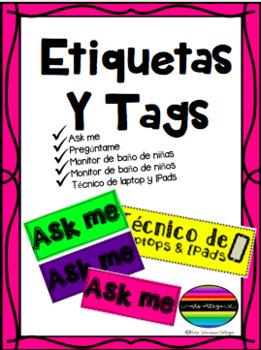 ASK ME TAGS. Spanish and English