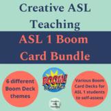 ASL 1 Boom Card Bundle