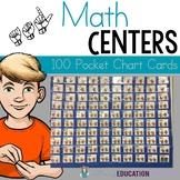 ASL 100 Pocket Chart Cards